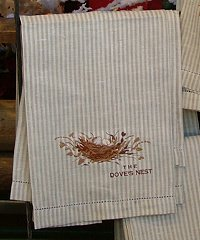DOVES NEST TEA TOWEL