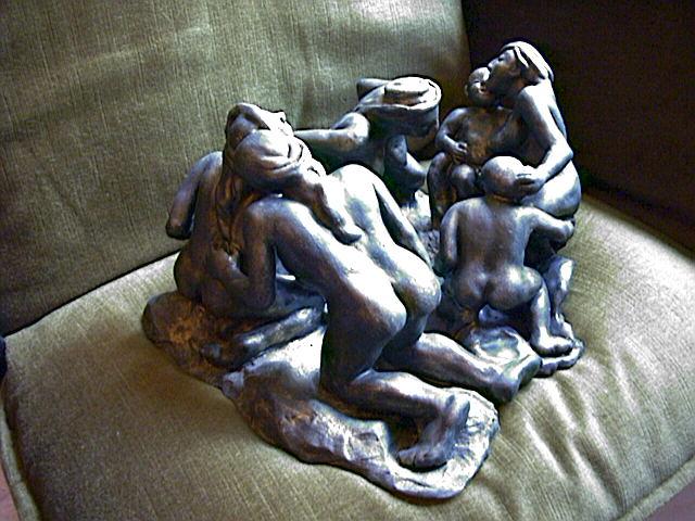 """CONSOLACIÓN"" Sin pedestal aún mis esculturas. Como se aprecia..."
