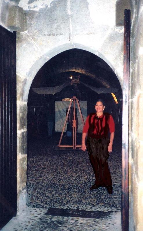 """En la exposición de """" Las Máquinas de Leonardo Da Vinci"""""""