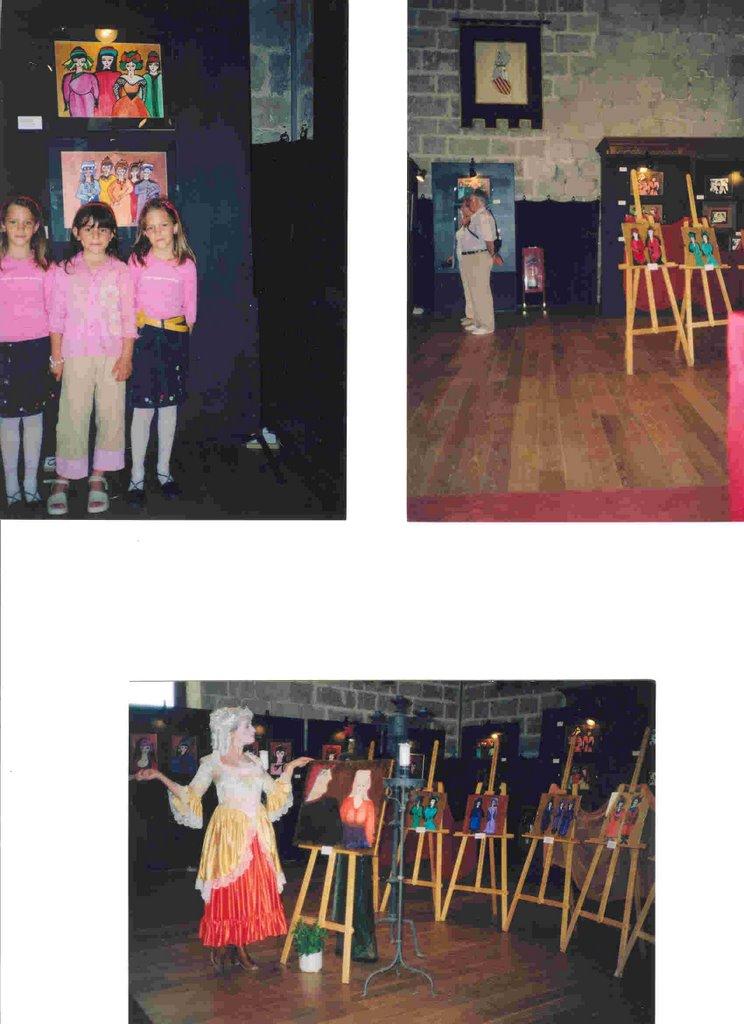 Exposición junio 2002 Muséo Castillo Peñiscola.