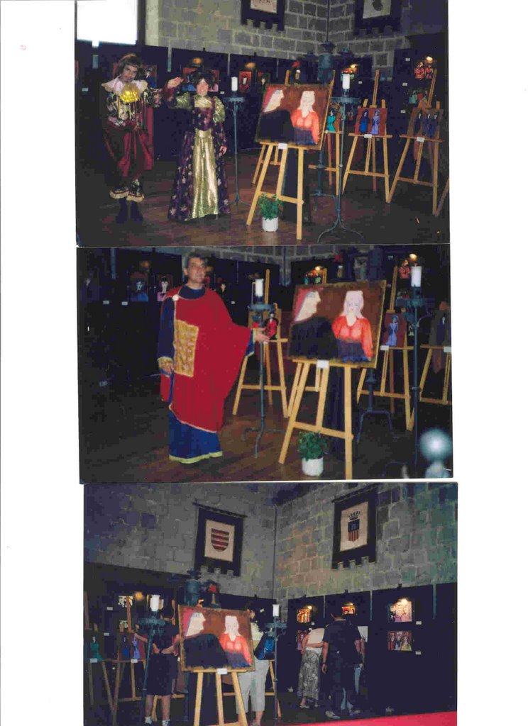 """2002 junio.Día de inaguración de """"Gente de la Altántida"""""""