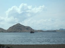 MV Bidadari in the Komodo National Park