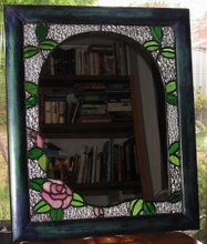 Pink Rose Arch Mirror