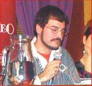 Mat Elefzerakis leyendo por 2da vez con Alejandría