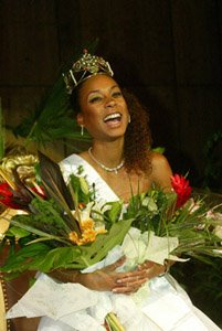 First winner of Miss Afro Hungary in 2003
