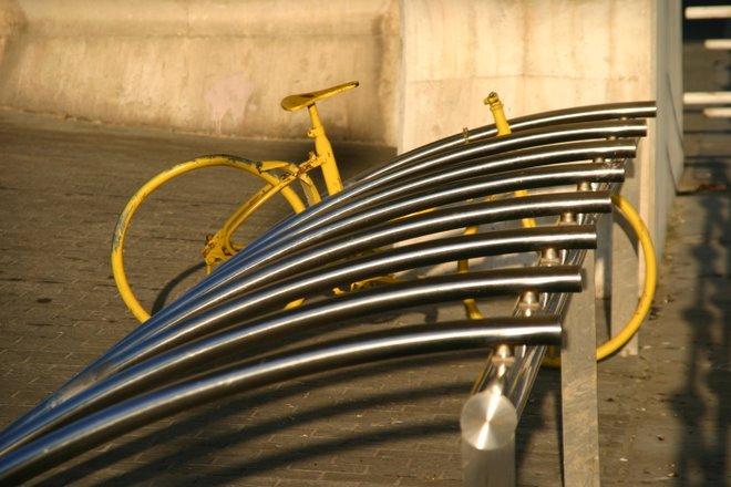 La bici solitaria