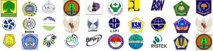 Logo Anggota FKK  dan Departemen Kehutanan