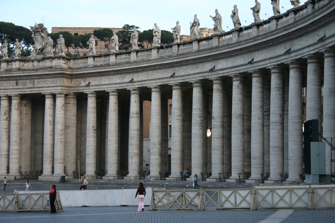 Plaza de San Pedro - Vaticano