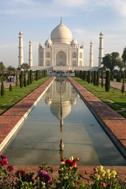 Imponente Taj Mahal
