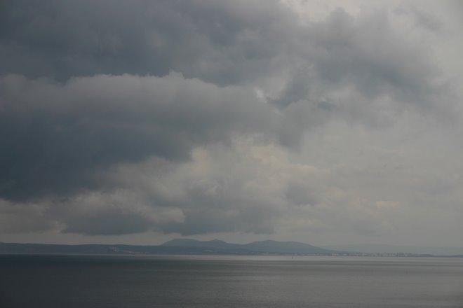 From Almadrava Beach