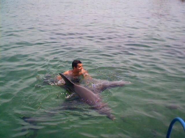 Bailando con dos delfinas