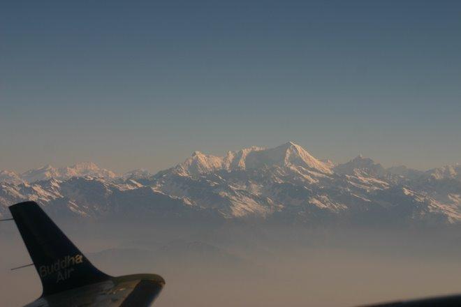 Camino a la Cordillera del Himalaya