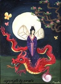 Lady Moon Dragon
