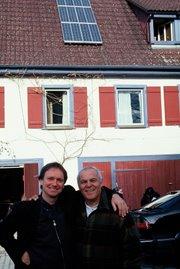 1998 - Com Herbert Dreiseitl em Owingen - Alemanha