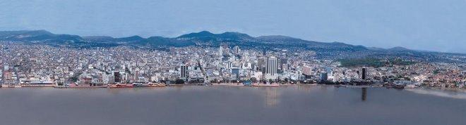 Guayaquil, a Vuelo de Pájaro