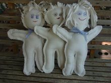 Anger Management ladies, AKA Dammit Dolls, For Sale