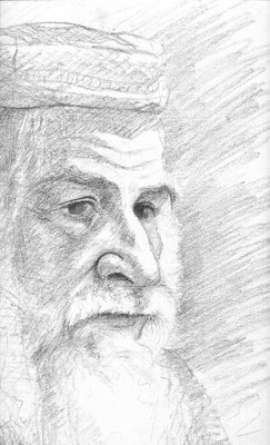 Rabbi drawing