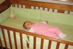 Madeleine Kauffman Sleeps in Baby Safe Position