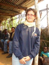 Eu em missão em Angola