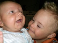 Chase and Kyson (our grandson)