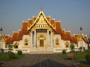Bangkok, a Márványtemplom