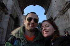 Maggie and Tonio on tour Dec. 2006