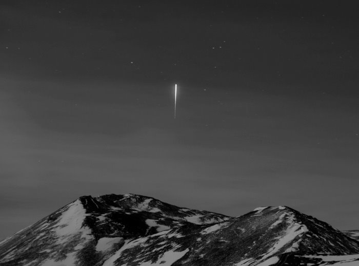 Iridium Flare