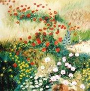 una flor ... es el compendio de la belleza;... la flora, la vida vestida de arcoiris