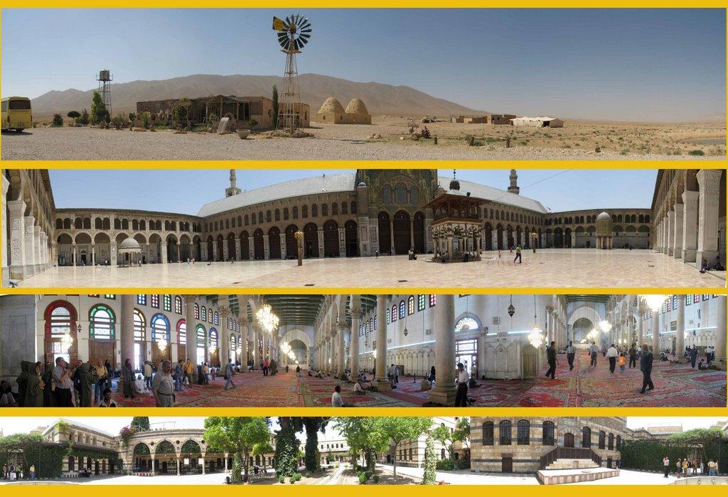 .....Bagdad Café - Mezquita por fuera y por dentro - Palacio Al Azem