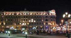 La place du Manège - Moscou
