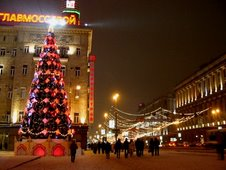 La rue Tverskaya