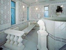 """L""""intérieur des bains Sandounov"""