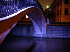 Pont sur le canal Vodootvodni - Moscou
