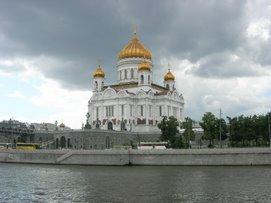 La cathédrale du Christ-Sauveur - Moscou
