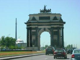 Arc de Triomphe - Moscou