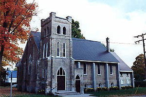 St John the Evangelist Church, Brussels, Ontario