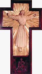 Sesquicentennial Cross