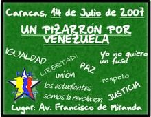 UN PIZARRON POR VENEZUELA