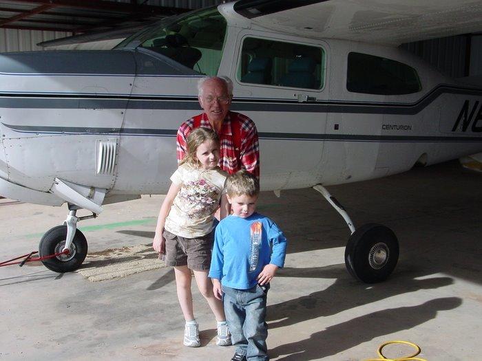 Grandpa's plane
