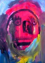 Un retrato expresionista