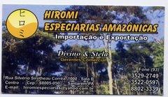 HIROMI ESPECIARIAS AMAZÔNICAS
