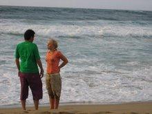 scatto a caso davanti all'oceano! poesia...