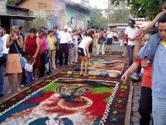 alfombras de flores