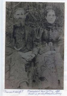 Thomas A. and Margaret Ann Coffey Wright