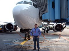 Minutos antes del primer vuelo