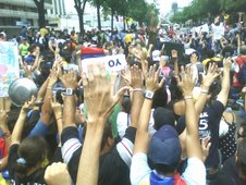 La lucha continua - Marcha (29-05-07)