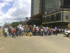 Desde la Torre Banaven hasta el Palacio de Justicia - Por los detenidos en las marchas (31-05-07)