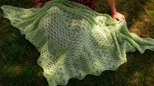 the bee fields shawl