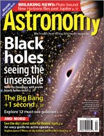 This Month's Astronomy issue: