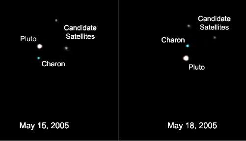 Discovery of 2 more of Dwarf Planet Pluto's moons